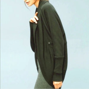Aritzia Wilfred Diderot Open Front Cocoon Cardigan